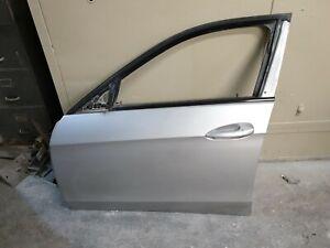 MERCEDES E-CLASS W212 '09-16 FRONT LEFT PASSENGER SIDE DOOR IN IRIDIUM SILVER