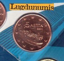 Grece - 2011 - 5 Centimes D'euro FDC Scéllée provenant coffret BU 15 000 Greece