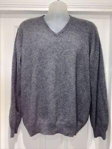Men's Autograph 100% Cashmere Sweater Jumper Size XL