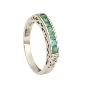 Gorgeous 92.5% Purity Jewelry Silver Ring Engagement Wedding Party Gift Size6-10