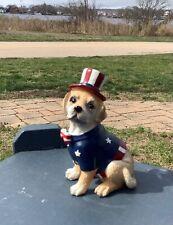 Fourth Of July Dog Figurine:Lab
