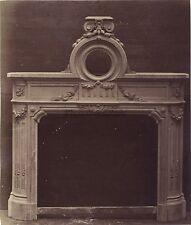 CheminéeArchitecture Décoration Photo Louis Émile Durandelle Vintage 1874