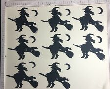 Cricut Halloween Die Cut Scary & Chic Halloween Large 8 Lg Black Witch 3 In Tall