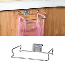 Stainless Steel Trash  Carbage Rack Holder RV Organizer Kitchen hang Cabinet