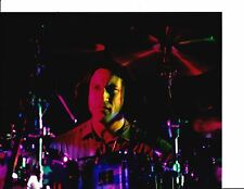 SMASHING PUMPKINS JIMMY CHAMBERLIN SIGNED VINTAGE LONG HAIR 8X10