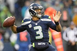 {24 inches X 36 inches} Russell Wilson Poster #1 - Free Shipping!
