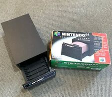 Vintage Nintendo N64 Game Cartridge Organizer Storage Draw w/ ORIGINAL BOX RARE