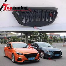 New Custom Front Bumper Grille Sport Grill Type for Mazda 3 Aexla 2017-2018