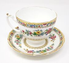 Coalport/Foley Ming Rose - Tea Cup & Saucer - Very Good Condition