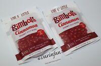 2 Packs Gimbal's CINNAMON SWEET 'N' HOT Gourmet Jelly Beans 7oz Resealable NEW!