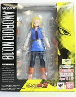 Dragon Ball Z ANDROID NO.18 #18 Action Figure S.H.Figuarts Bandai [Excellent]