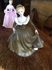 Royal Doulton Porcelain China Figurine Geraldine HN2348 1971 Matte Dress