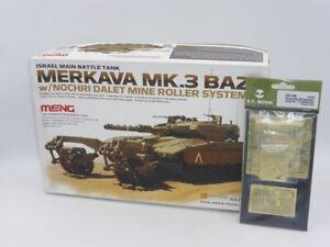 Meng TS-005 Merkava Mk.3 BAZ w/Nochri Dalet Mine Roller 1:35 + ET Model E35205