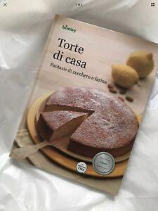 VORWERK BIMBY TM5 TM 5 - LIBRO RICETTE RICETTARIO : TORTE DI CASA
