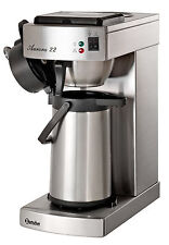 Kaffeemaschine Aurora 22  Chromnickelstahl incl Pumpkanne 2 Ltr Bartscher 190048