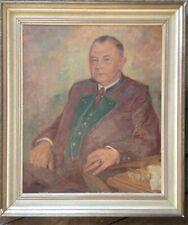::2 xPORTRAIT MANN & FRAU ART DECO TRACHT UM 1925 MIT SCHMUCK MIT RAHMEN ANTIK