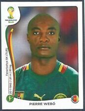 PANINI WORLD CUP 2014- #106-CAMEROUN-CAMEROON-PIERRE WEBO