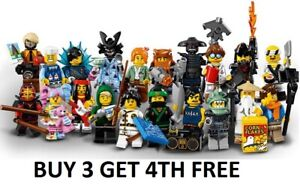 The LEGO Ninjago Movie Minifigures 71019 pick choose your own BUY 3 GET 4TH FREE