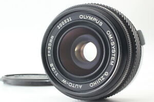 [Exc+5] Olympus OM-SYSTEM G.ZUIKO AUTO-W 35mm F2.8 MF Lens From JAPAN
