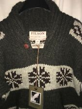 NEW WITH TAGS FILSON MADE IN CANADA LIMITED EDITION COWICHAN SWEATER L $495