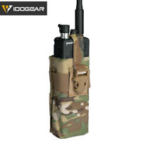 IDOGEAR Tactical Radio Pouch For Walkie Talkie MOLLE MBITR PRC148 152 Paintball