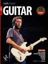 Rockschool Guitar Grade 5 2018-2024 TAB Music Book/Audio Songs Exercises Tests