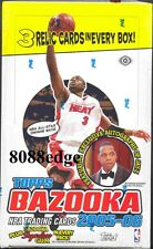 2005 05-06 TOPPS BAZOOKA NBA HOBBY SEALED BOX: CHRIS PAUL/ANDREW BOGUT RC AUTO