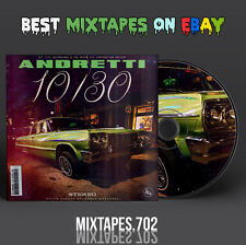 Curren$y - Andretti 10/30 Mixtape (CD/Front/Back Cover) 10 30 2016 Currensy