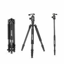 Z818C Professional DSLR Tripod Monopod&Ball Head DV Compact for Digital Camera