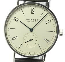 NOMOS Tangent TAN171W1 Small seconds beige Dial Hand Winding Men's Watch_591802