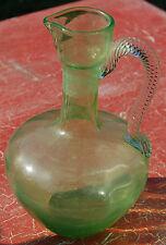 Karaffe 17 cm aus Glas guter Zustand C24