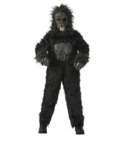 Kids' Gorilla Halloween Costume Black Rubie's Costume Size XL Extra Large