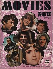 Movies Now Summer Edition 1971 Vol.1 No.1 Elliott Gould w/Poster EX 120315DBE