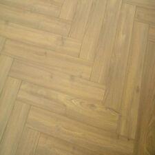Vintage herringbone dusky oak 12mm laminate flooring - SAMPLE PIECE