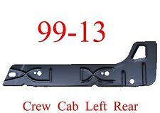 99 13 Left Rear Crew Cab Inner Rocker Panel, Chevy GMC Truck, Silverado Sierra