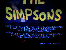 The SIMPSONS Original konami Jamma PCB