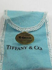 AUTHENTIC Tiffany & Co. 18K Clad Sterling Silver McKesson 25th Anniversary Pin