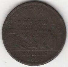 More details for 1813 nottingham j.m.fellows & co penny token   pennies2pounds