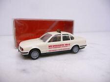 """041928 BMW 5er E34 Limousine Taxi """" Die Spielkiste """" Herpa H0"""