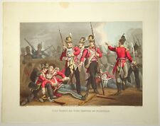 EDWARD ORME Original Color Aquatint Removed Historic Military NAPOLEONIC WARS l