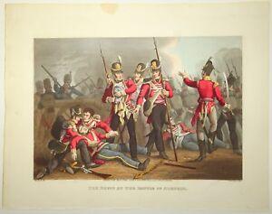 EDWARD ORME Original Color Aquatint Removed Historic Military NAPOLEONIC WARS l