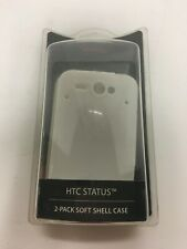 Rocketfish HTC Status 2 pack soft shell case new