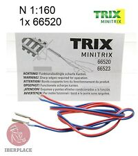 Minitrix Trix 66520 N escala 1:160 1x Rail Joiners Eclisses Unión de carriles
