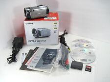 Canon VIXIA HF R100 Full HD Camcorder AVCHD CMOS HDMI + 8 GB SDHC Card Tested