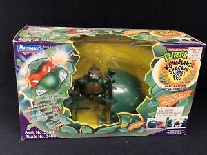 Playmates Toys vintage Teenage Ninja Mutant Turtles EGG CRACKIN' Michaelangelo