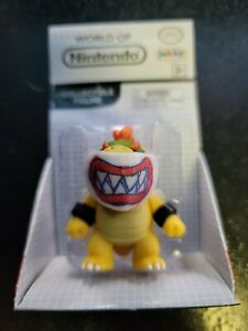 World of Nintendo Super Mario Bros. Bowser Jr. with Mask (2018) Jakks Pacific