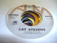 Rock 45 CAT STEVENS Another Saturday Night on A&M