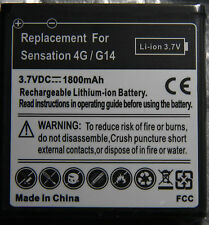 Two brand new 1800mAh Battery for HTC Sensation/G14 T-Mobile Sensation 4G