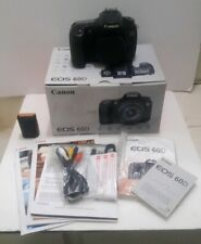Canon EOS 60D 18.0MP Digital SLR Camera Body Used in Box