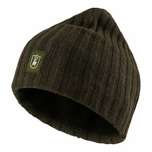 Deerhunter Recon Knitted Beanie Hat Olive Green Country Hunting Shooting